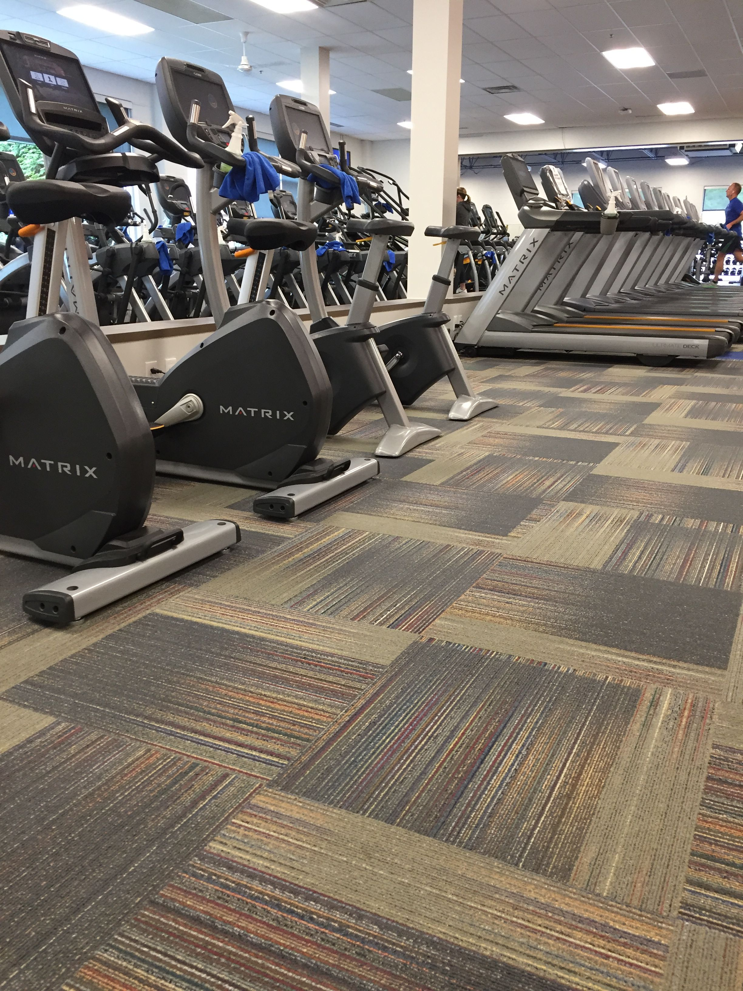 Fitness Center Great Application Of Bolyu Carpet Tile With Puralex Carpet Tiles Rugs On Carpet Stainmaster