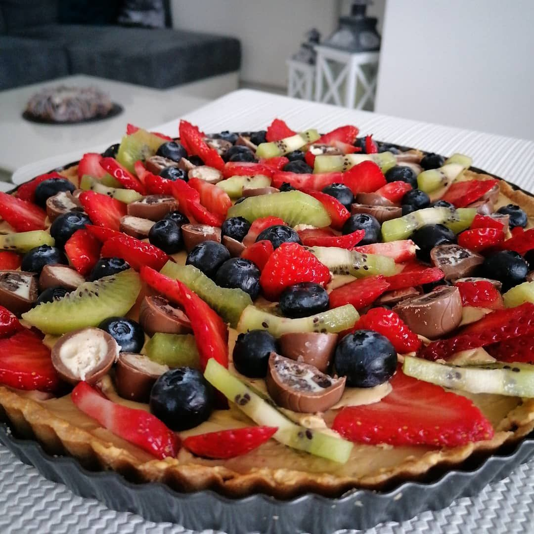 #cake #tarta #homecooking #homedecor #kitchen #loveit #foodlover #ciasto #owoce #słodycze...