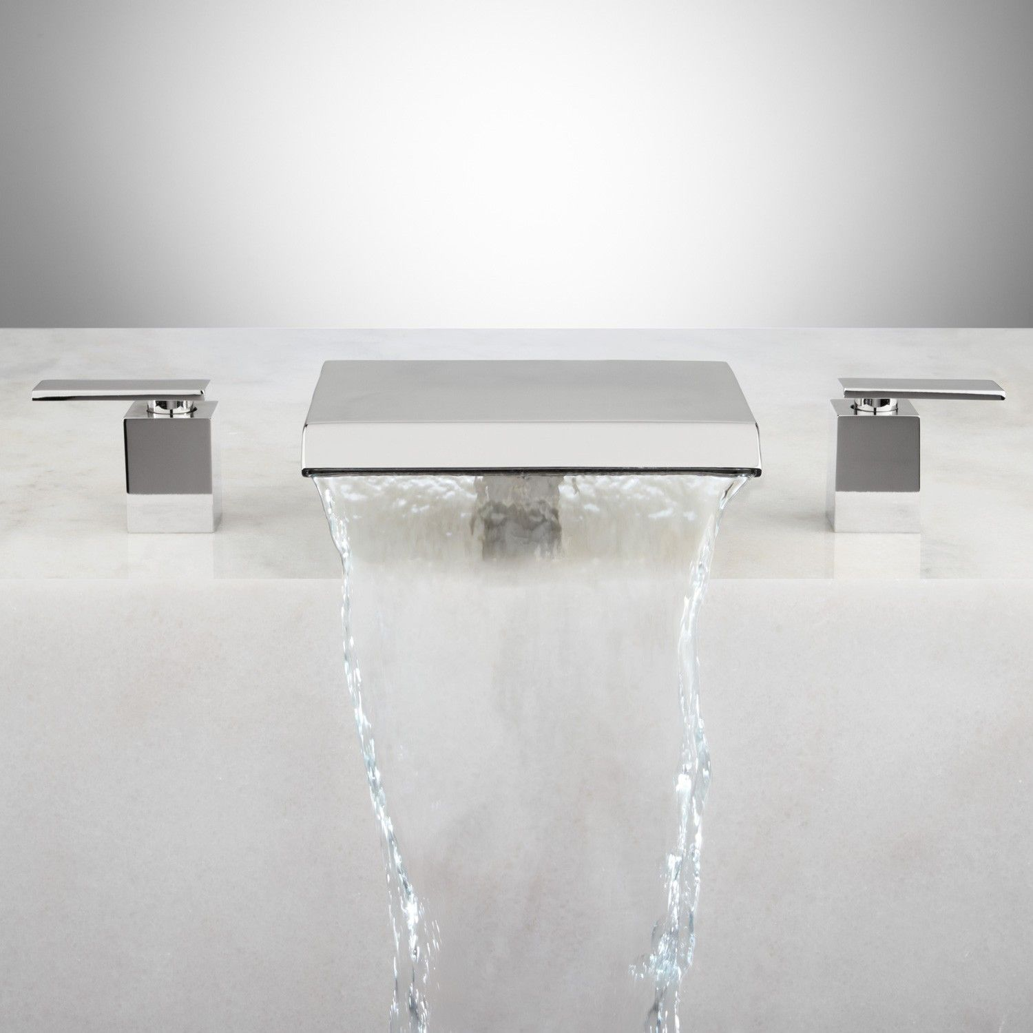 Attractive Roman Waterfall Tub Faucet Pattern - Faucet Products ...