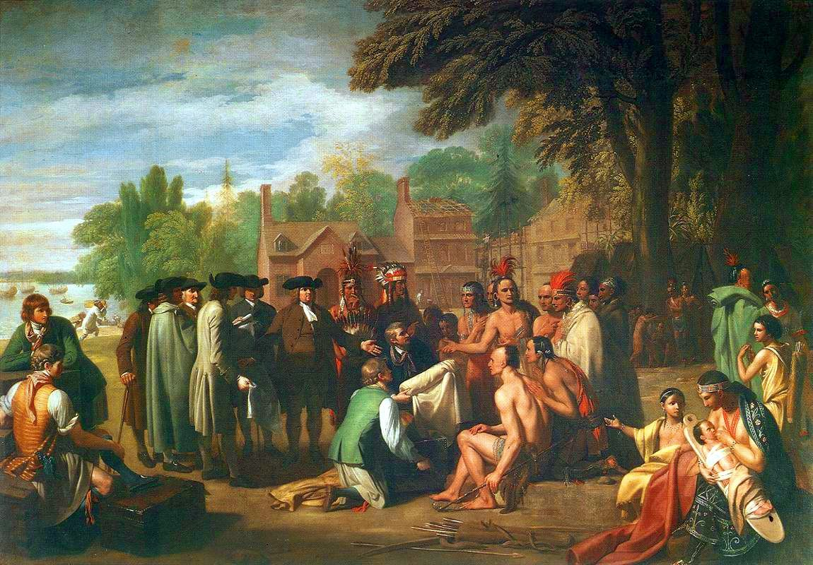 Treaty of Penn with Indians by Benjamin West - Native Americans in the United States - Wikipedia, the free encyclopedia