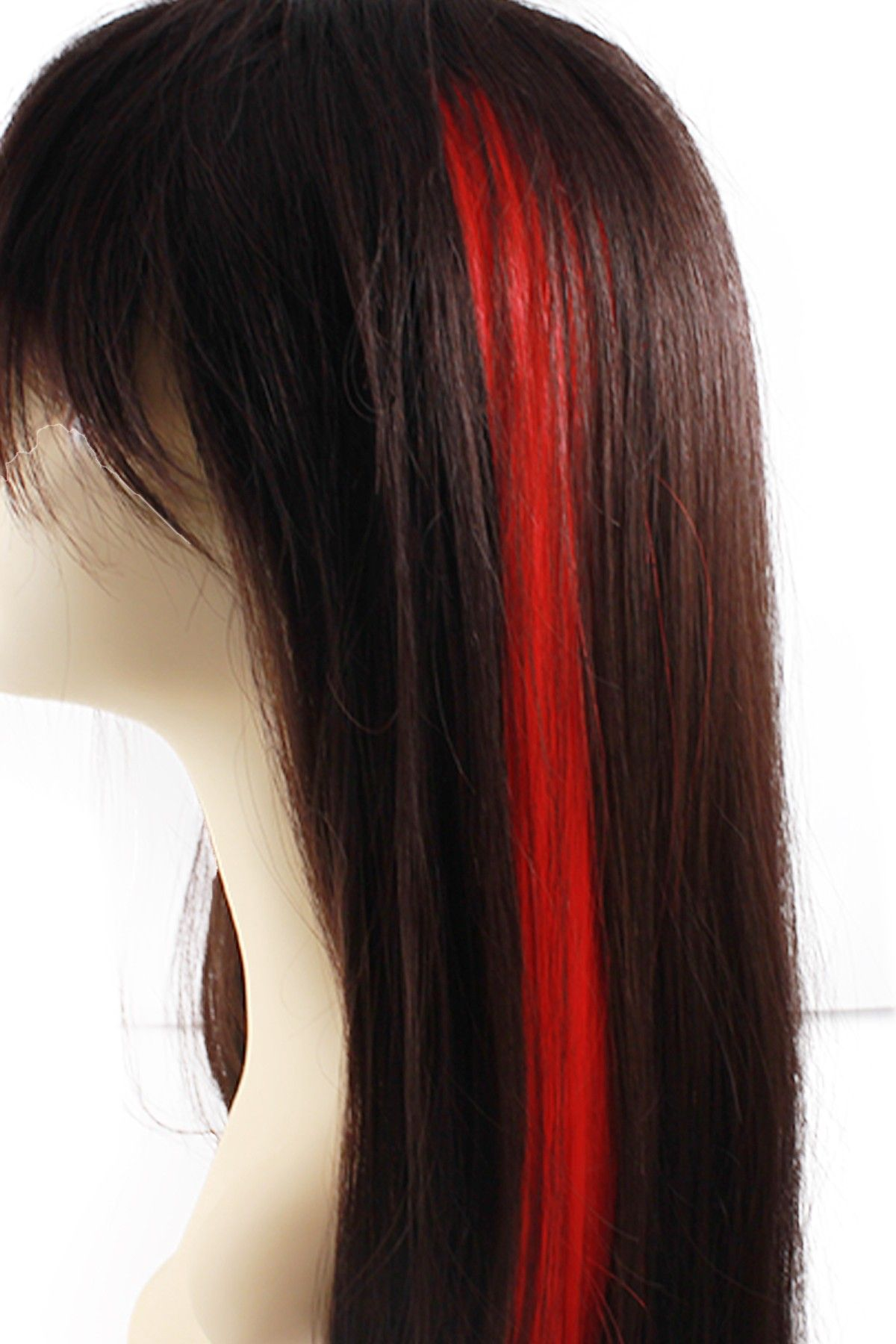 On Hautelook Celebrity Strands Single Clip Hair Extension Red