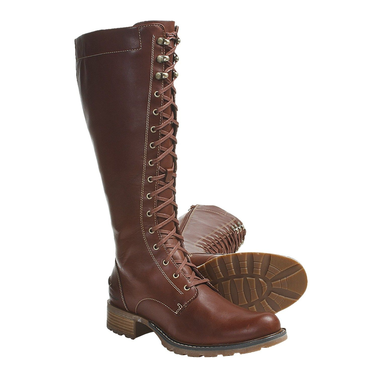 Brown Leather Boots Women - Yu Boots