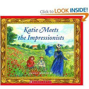 Katie Meets The Impressionists Scholastic Bookshelf Paperback James Mayhew Author