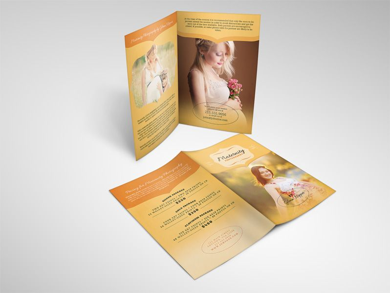 Maternity Photography Services Brochure  Photography Services