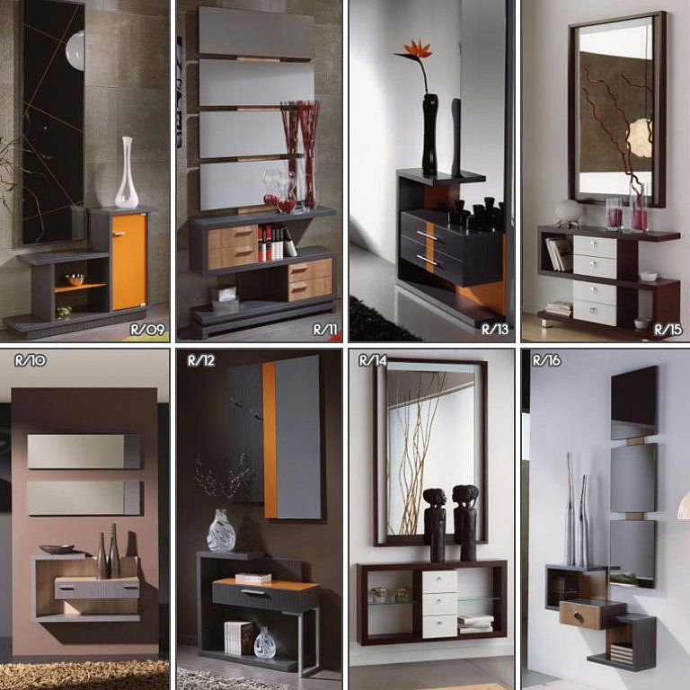 Recibidores para espacios peque os decorar tu casa es for Diseno de espacios pequenos