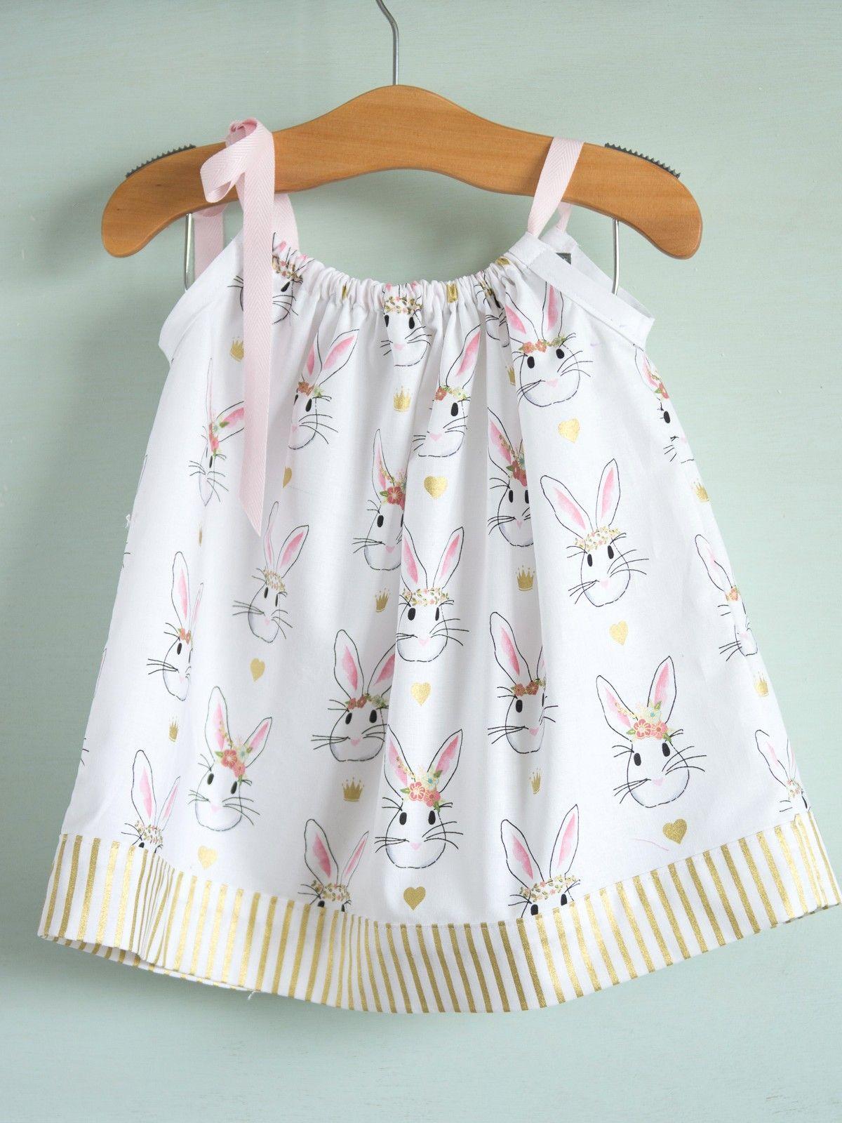 Pillowcase Dress Tutorial | Kinderschnitte und Nähen
