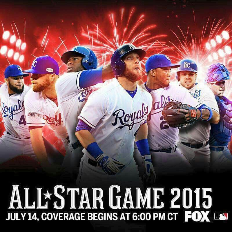 How many Royals in the Allstar game? Kansas city royals