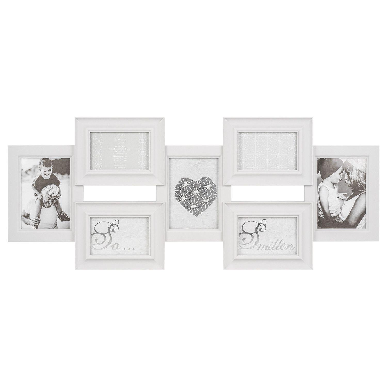 Dove Grey 7 Multi Aperture Frame Multi photos frame