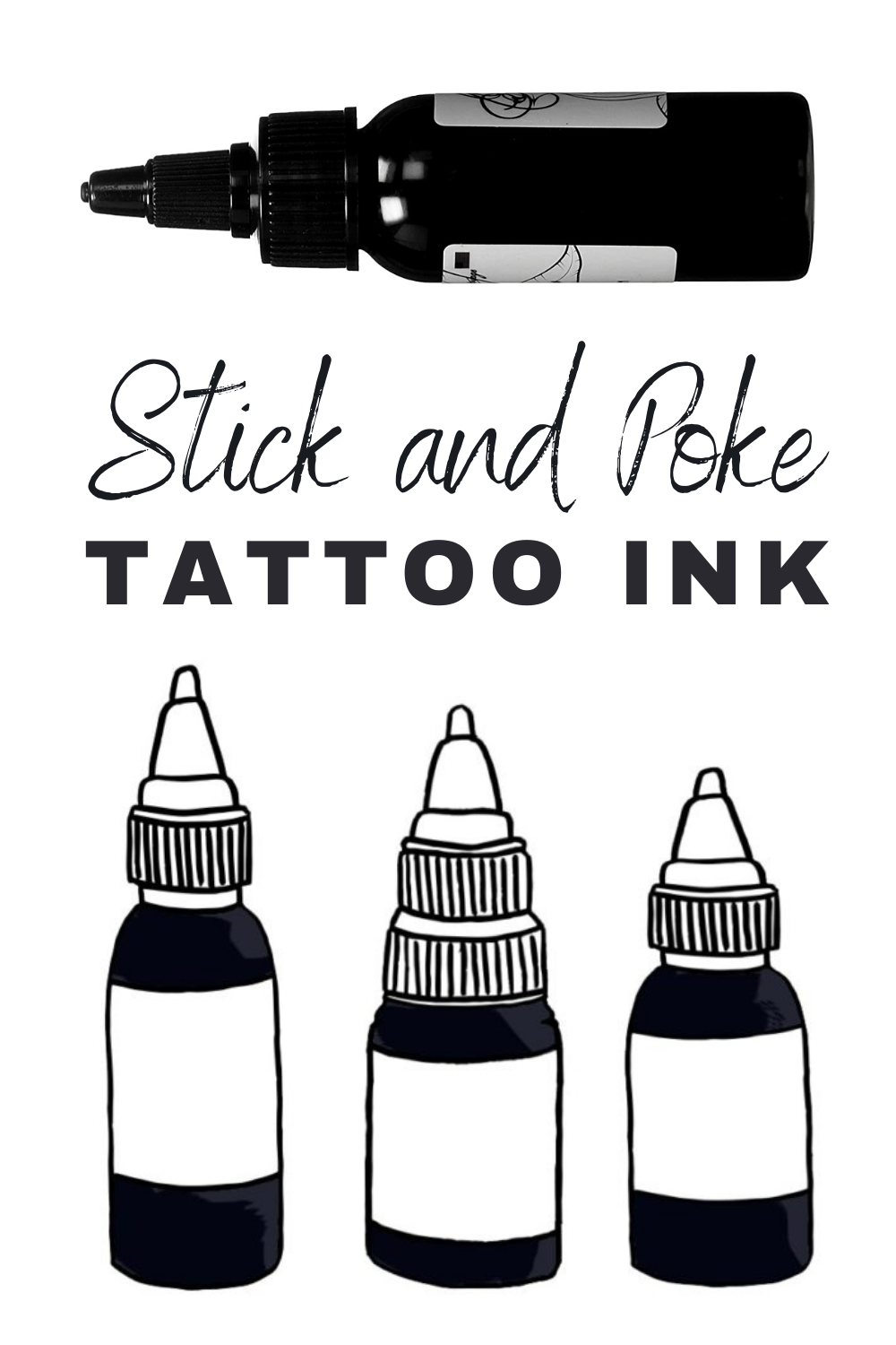 Photo of Stick and Poke Tattoo Ink