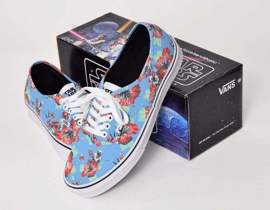 #Vans Authentic Star Wars Yoda Aloha #sneakers