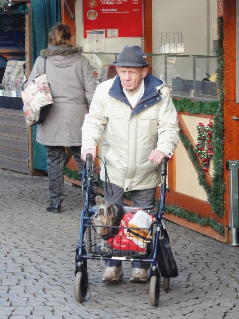 Old man in mannheim