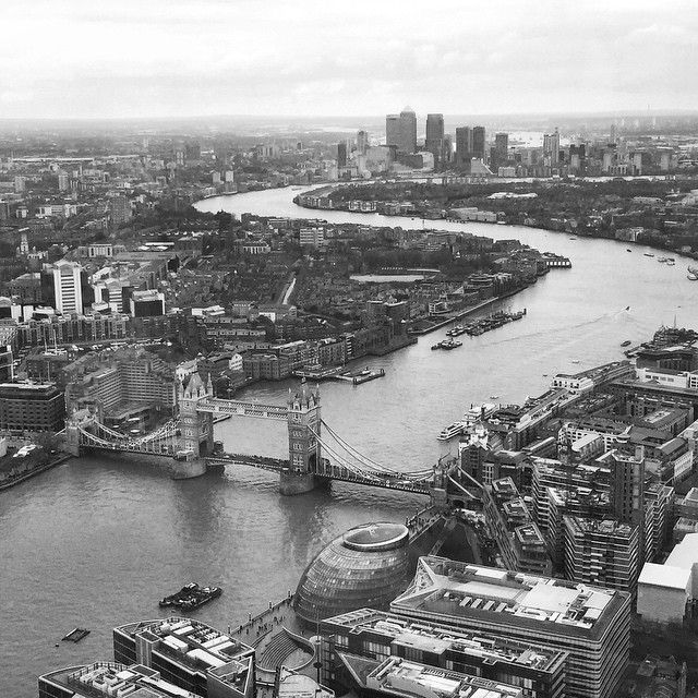 View from the Shard - London Photo taken by @just_in_the_nikk_of_time on Instagram