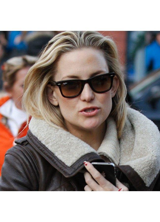 295d1b7031 Kate Hudson Style Medium Gradient Horn Rimmed Celebrity Sunglasses ...