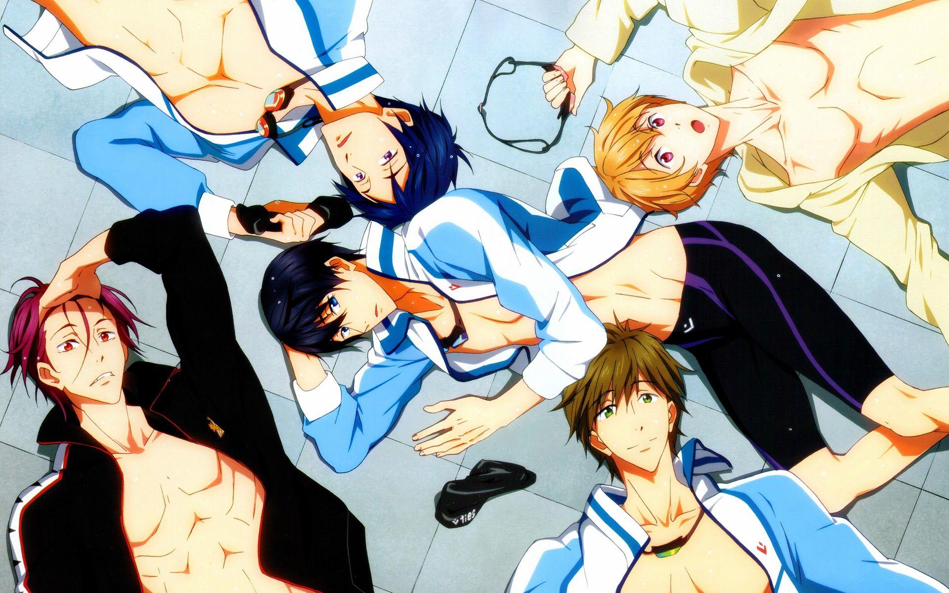 Free Anime Wallpapers 1 Anime Zodiac Free Iwatobi Swim