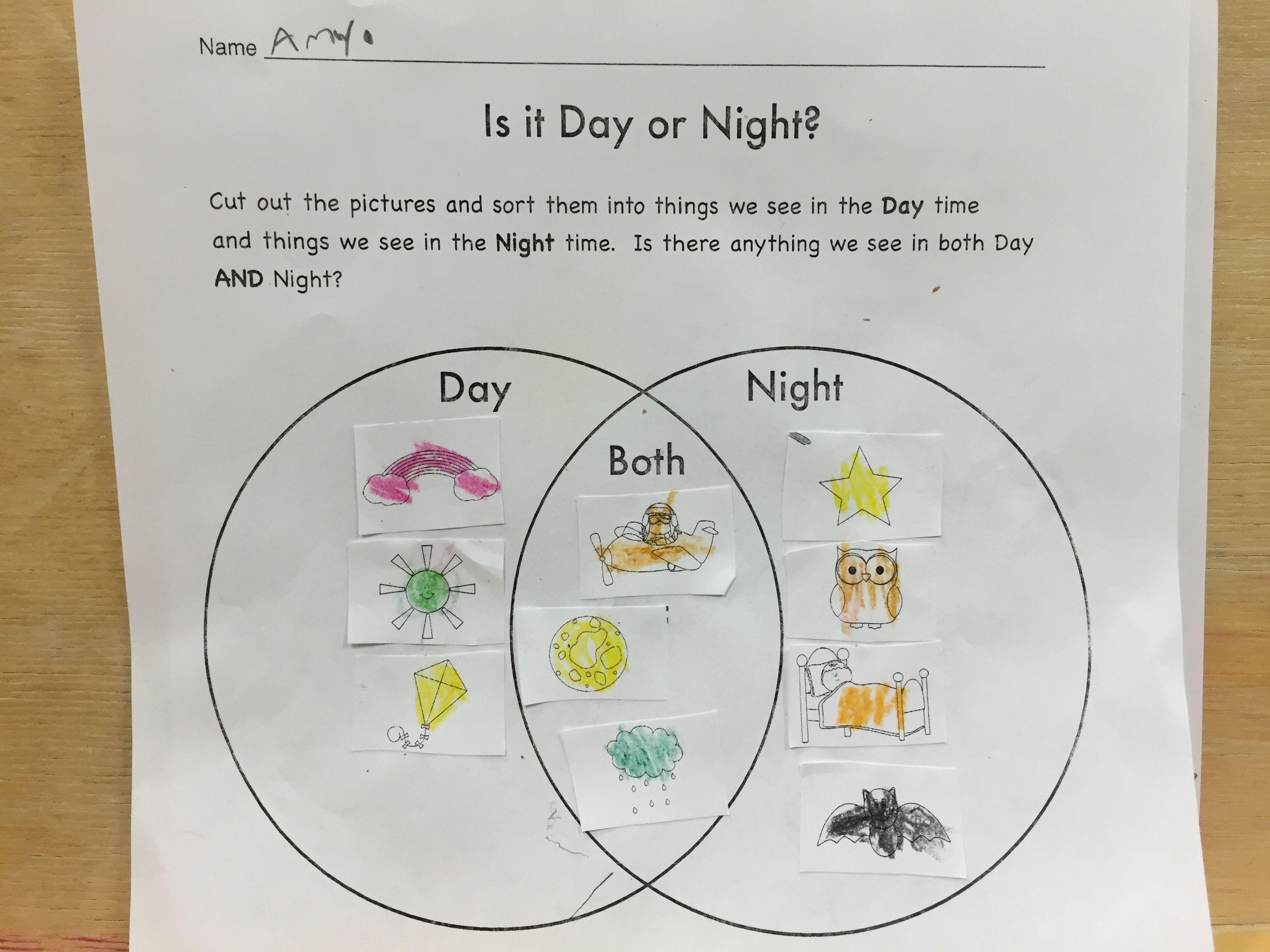 is it day or night venn