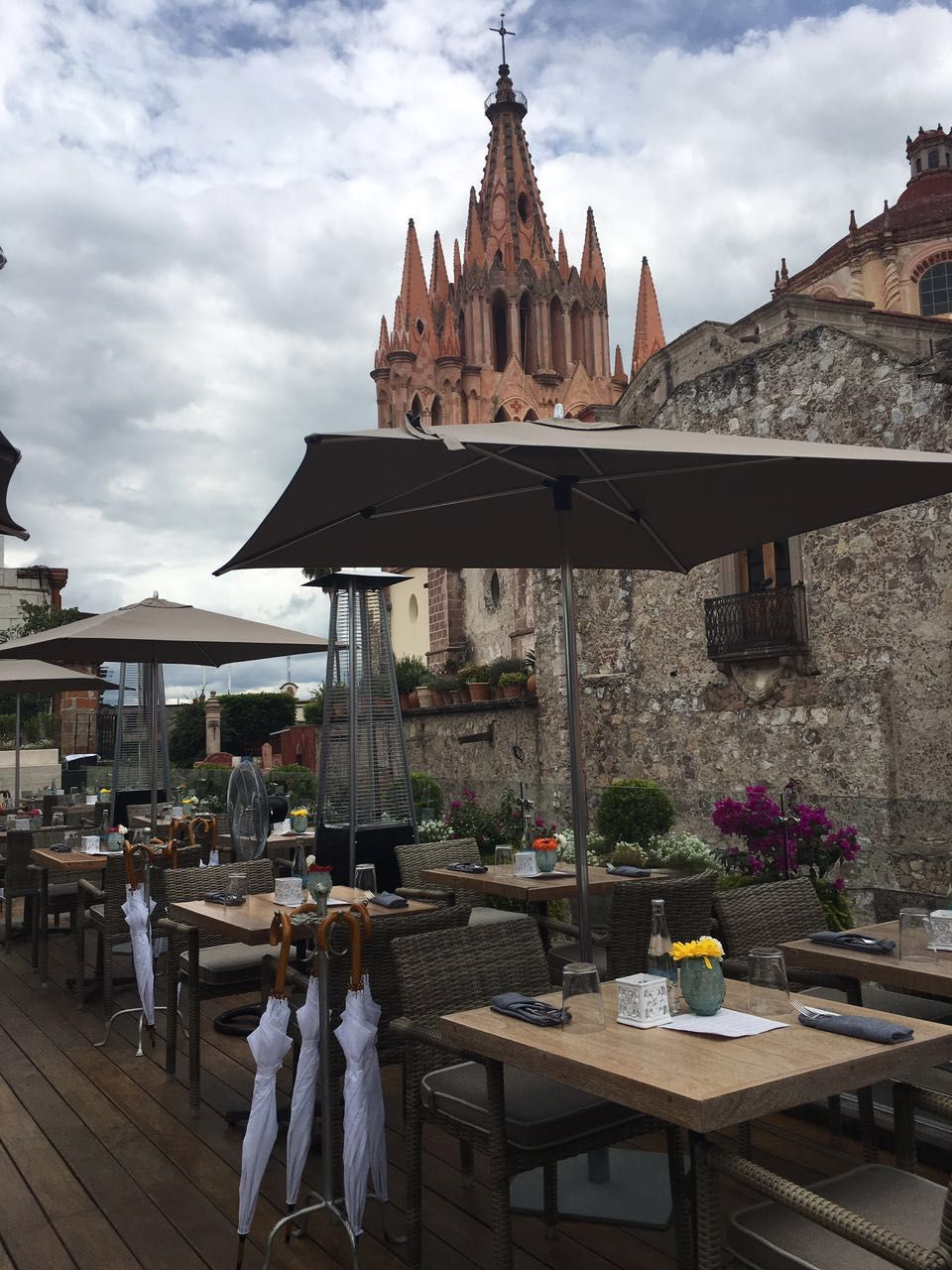 Whether Sunny Or Cloudy Quince San Miguel De Allende Is The