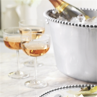 Bellini Clear Champagne Coupe | Mariposa