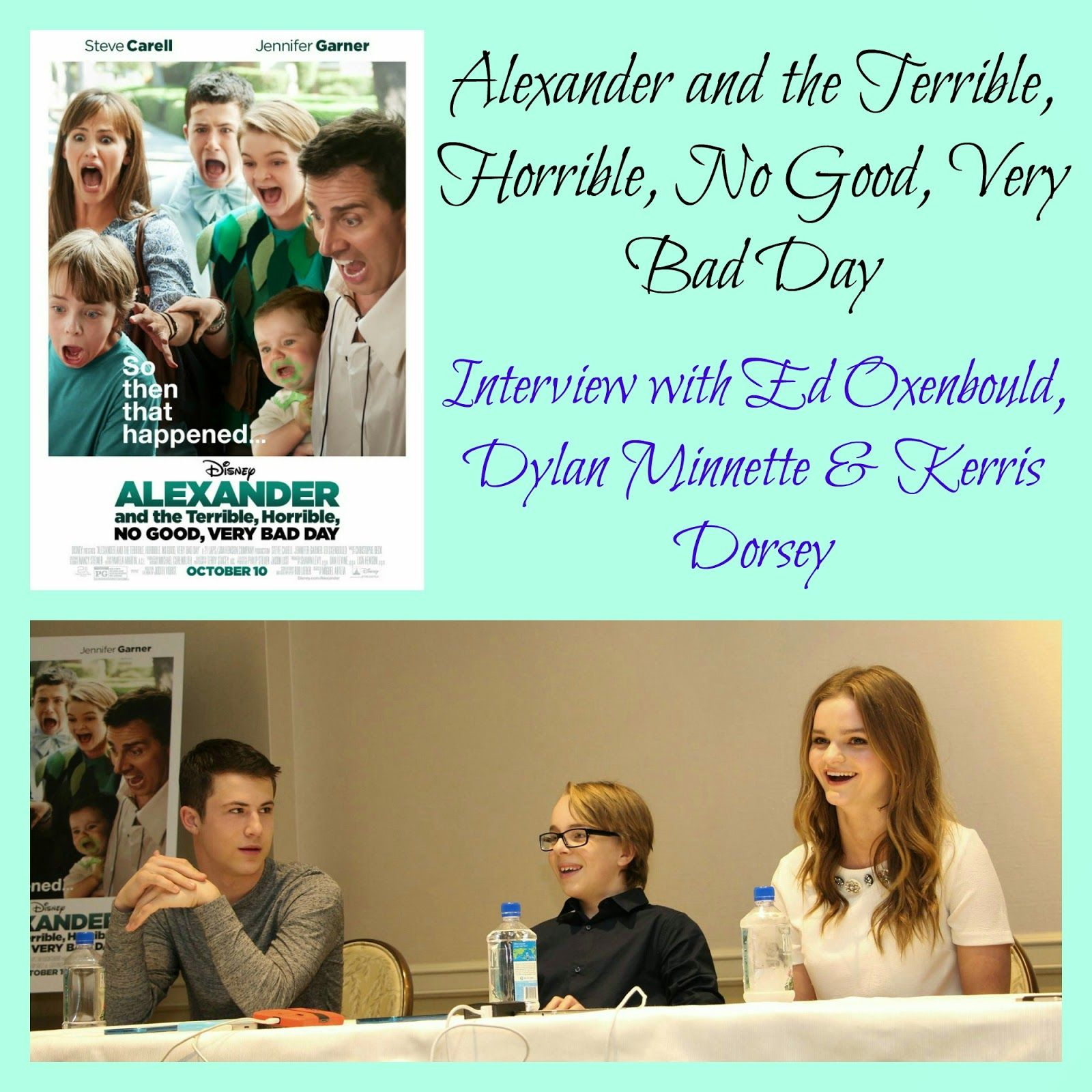 Interview With The Kids Of Alexander And The Terrible Horrible
