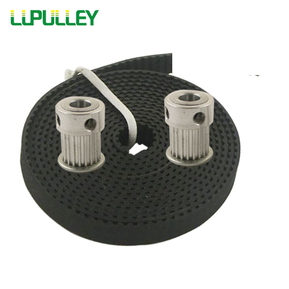 Lupulley Mxl Timing Belt Pulley 20t Bore 5 6 635 8mm With 5m