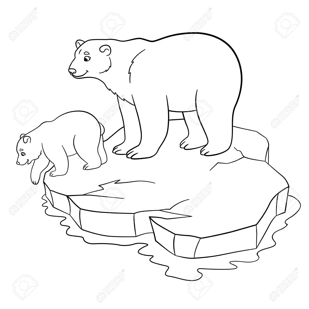 - Image Result For Coloring Pages Of Polar Bears Polar Bear Color