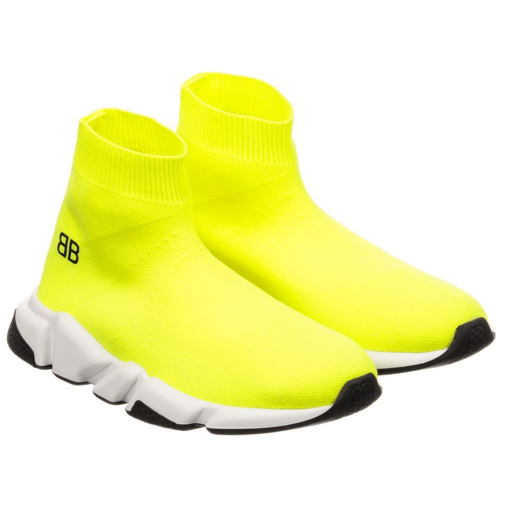 balenciaga trainers neon