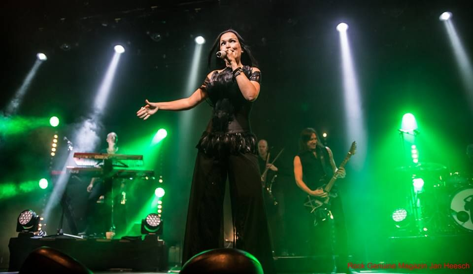 Tarja Turunen and her band: Alex Scholpp, Max Lilja, Tim Shreiner, Kevin Chown and Christian Kretschmar live at Batschkapp, Frankfurt, Germany. The Shadow Shows, 12/10/2016 #tarja #tarjaturunen #theshadowshows #tarjalive PH: Jan Heesch for https://web.facebook.com/rockgenuine/