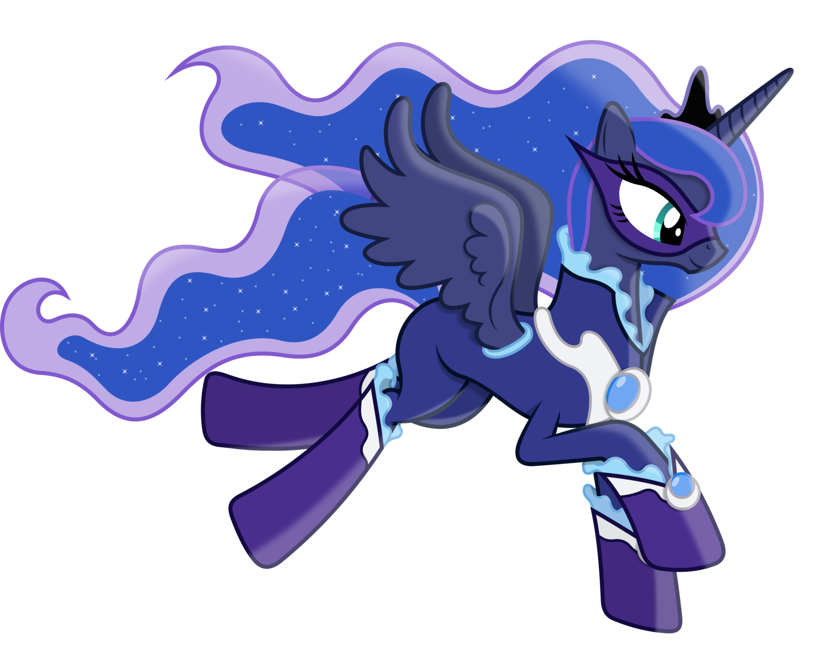 Princess Luna As A Power Pony By 90sigma On Deviantart My Little Pony Drawing Princess Luna Pony