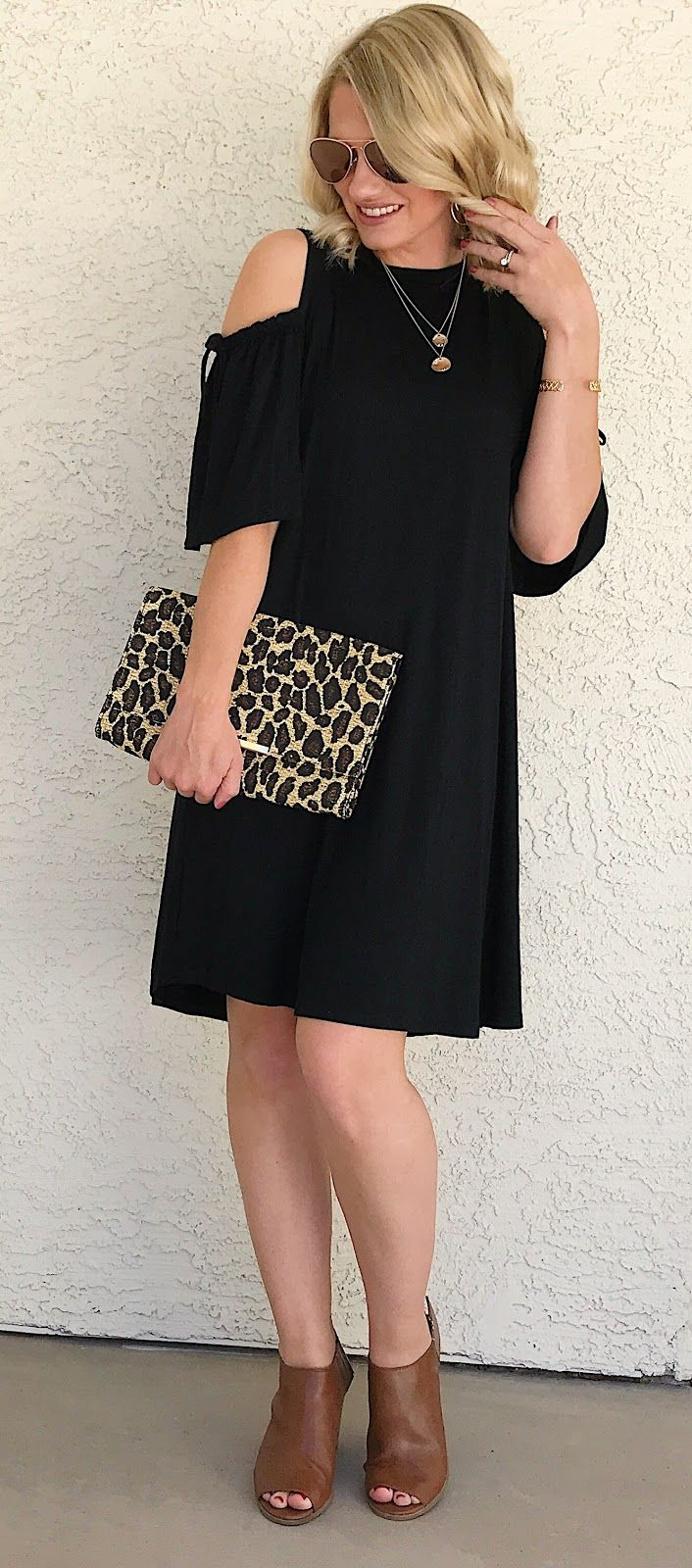 The perfect black dress for spring fashion bloggers spring and