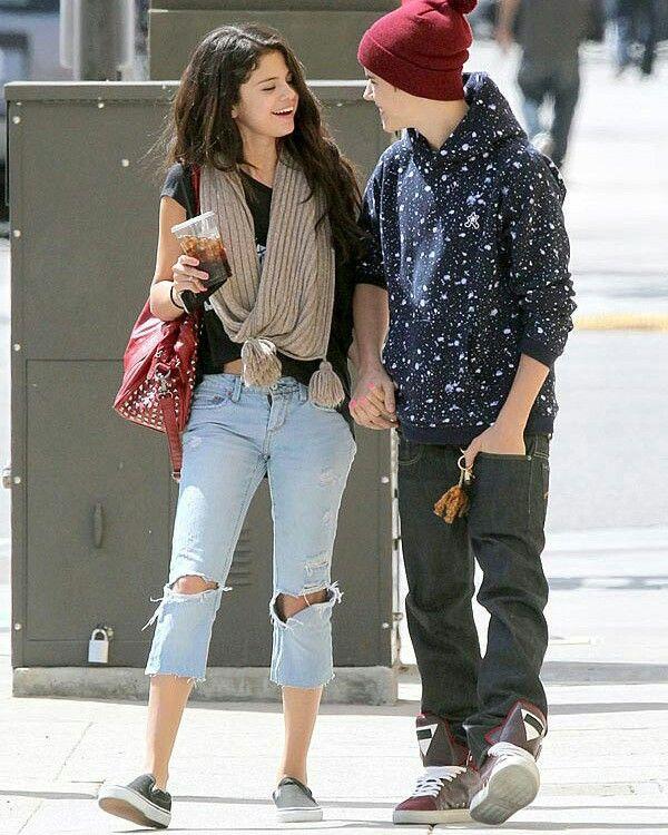 Justin Bieber og Selena Gomez dating for hvor lenge