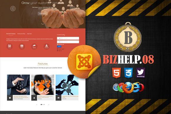 Biz Help Desk 08 Powered By Joomla by bizgenz on @creativework247