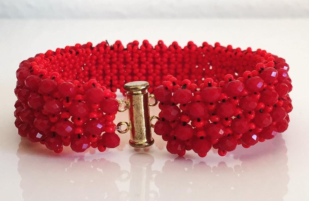 #kristal #kristalarmband #kristalbileklik #weihnachtsgeschenk #lieferungauchperpost #tollearbeit #accessories#deutschland #bielefeld #şık #schmuck #schickgemacht#handmade #handarbeit #madeindeutschland#kırmızı #rot