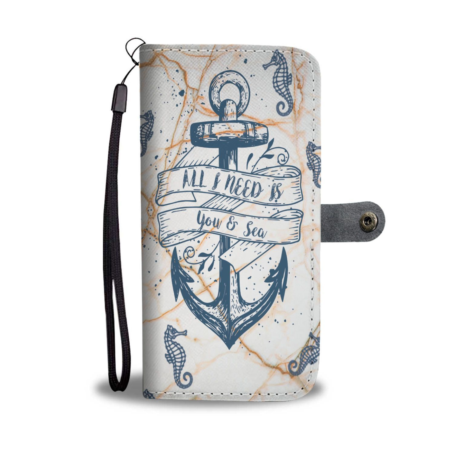 Custom Phone Wallet Available For All Phone Models All I Need Is You & See Phone Wallet - LG G7