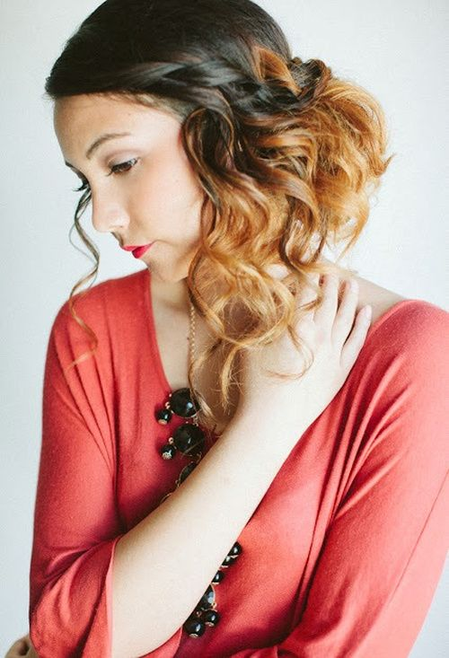 18 Alluring Loose Updos for Any Event Gallery