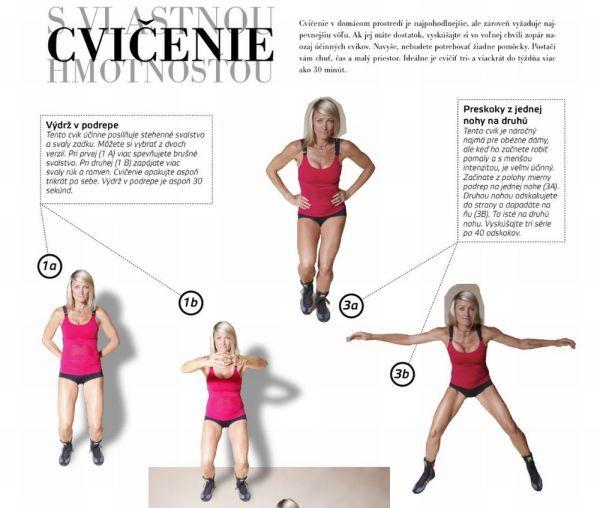 Foto: Zoznam efektívnych cvičení pre ženy! | Diva.sk