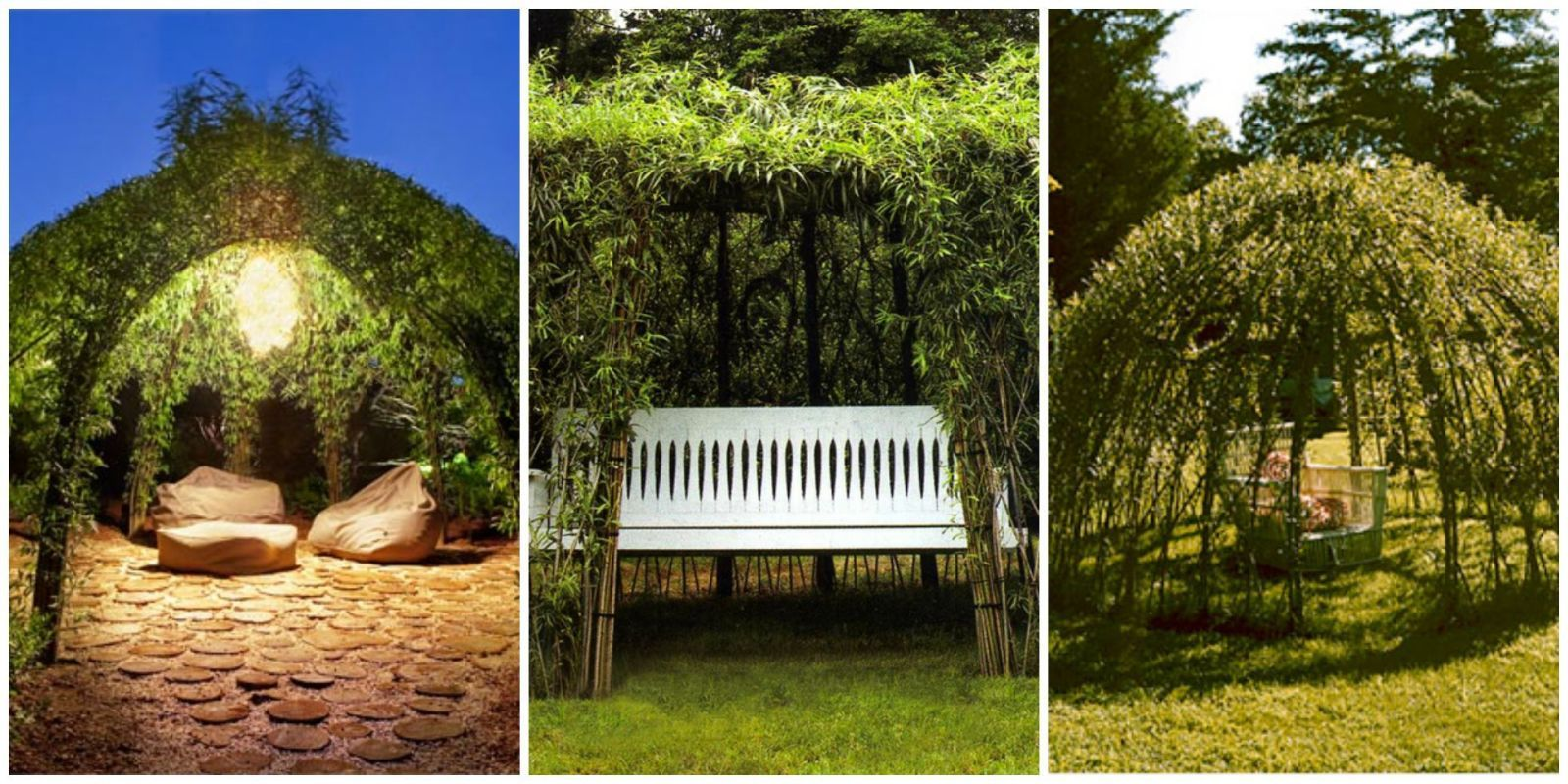 These Willow Gazebos Give New Meaning To Living Rooms Gazebo