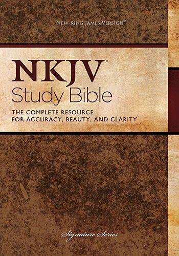 Thomas Nelson Bibles - NKJV Study Bible   All about JESUS   Nkjv