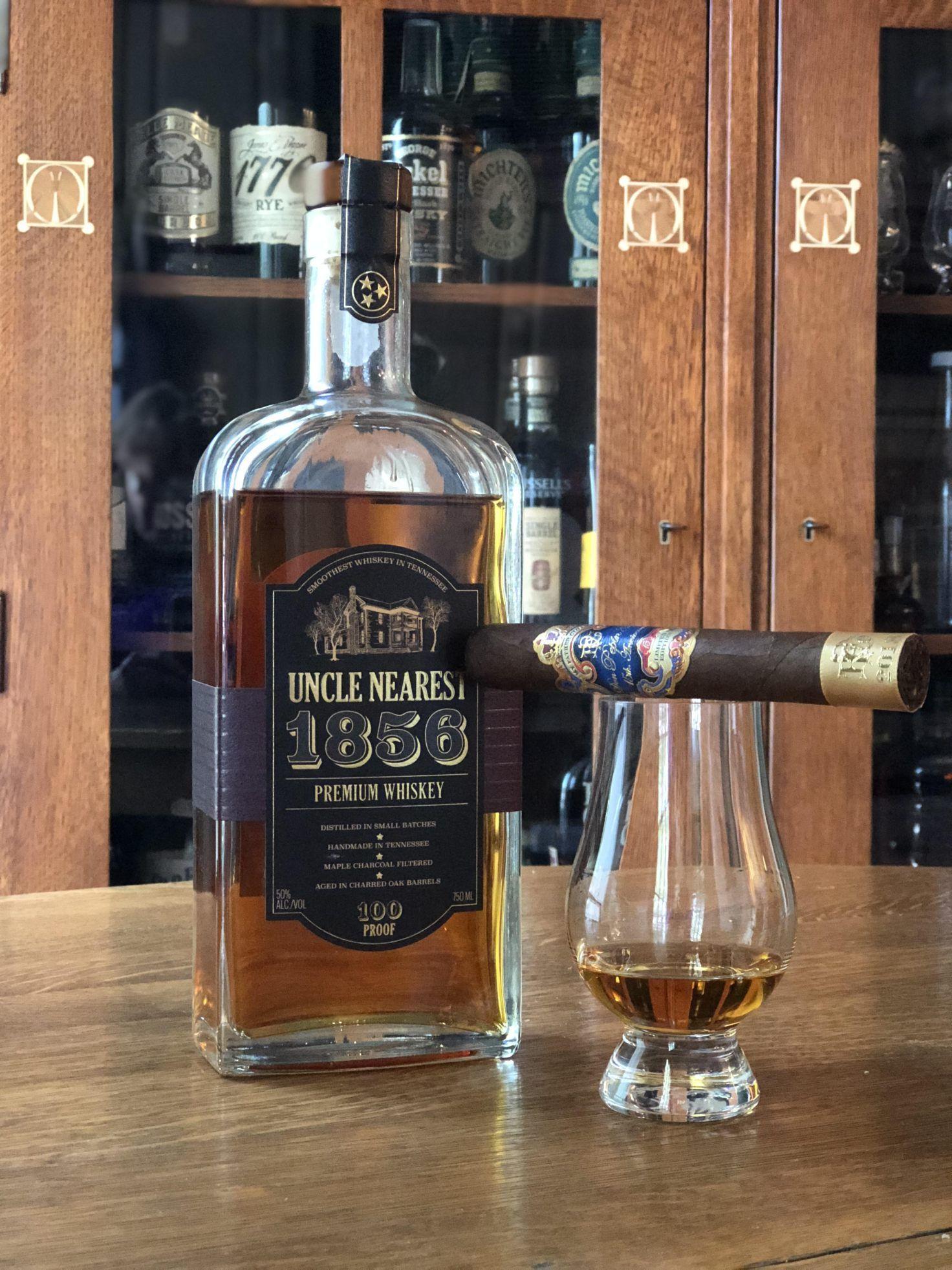 Uncle Nearest 1856 750 ml bottle 100 proof Jack Daniel/'s