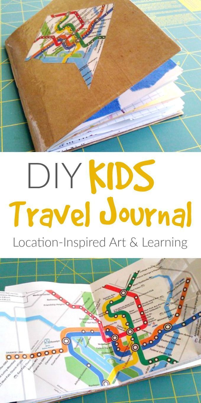 how to make your own travel journal