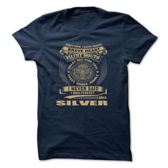 SILVER T Shirts, Hoodies. Get it here ==► https://www.sunfrog.com/Camping/SILVER-124659154-Guys.html?57074 $19