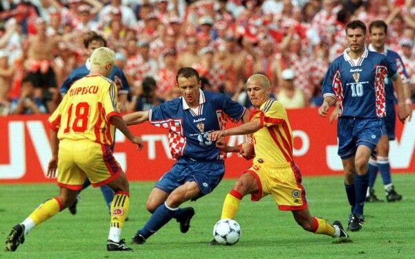 Image result for romania vs croatia 1998