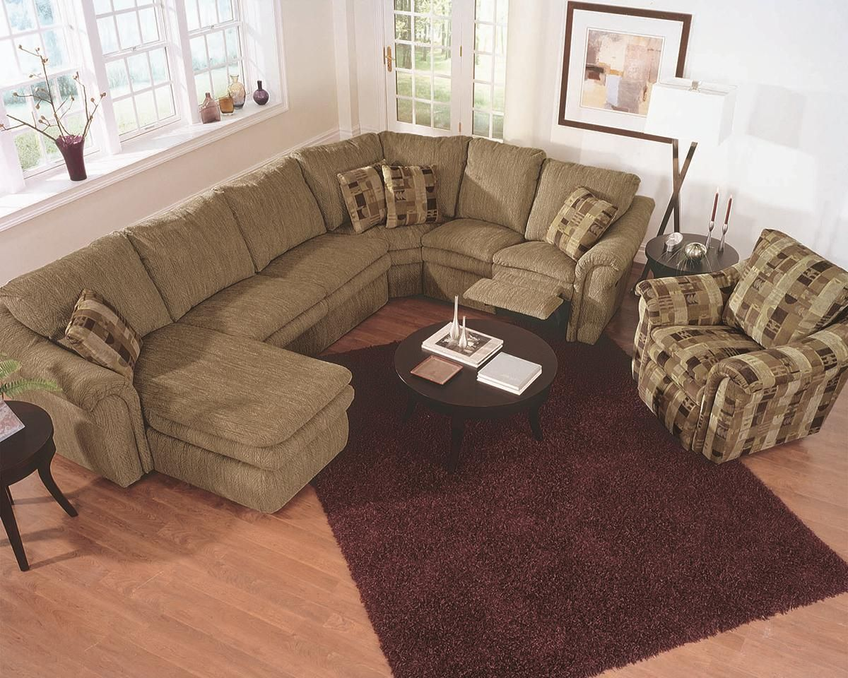Urban Home Devonshire Sofa Sectional Couch With Chaise Lounge And Recliner Things I