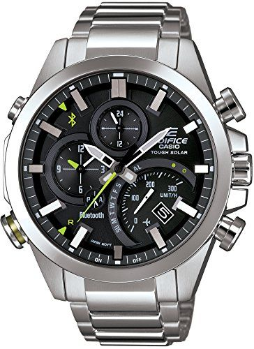 ae3c9097650 Amazon.com  CASIO Men s Watch EDIFICE BLUETOOTH SMART corresponding  EQB-500D-1AJF  Watches