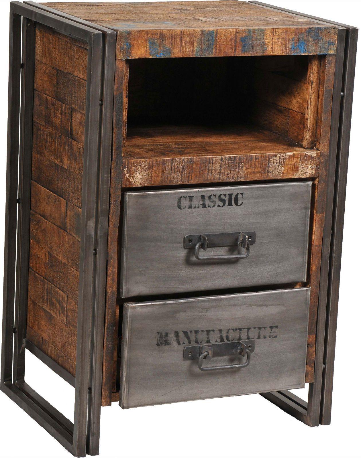 MOTI Furniture Addison 2 Drawer Nightstand & Reviews   Wayfair