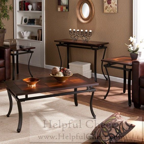 Upton Home Cornell Table Collection Set of 4 - at - 0153 - Your Online Furn
