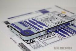 R2D2 Phone Decal