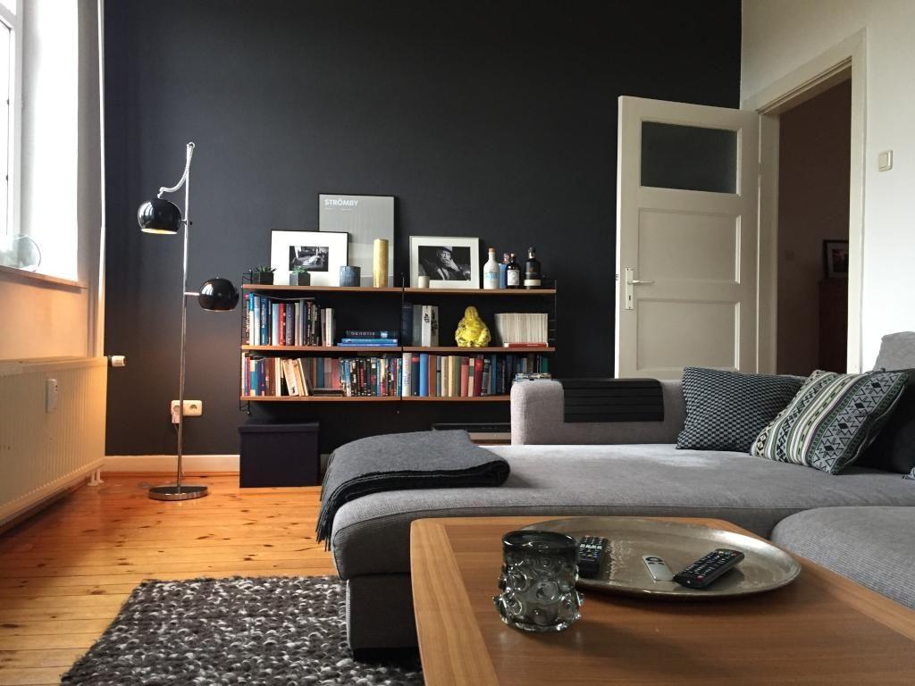 Grosses Gemutliches Wohnzimmer In Hamburger Wohnung Gemeinsamwohnen