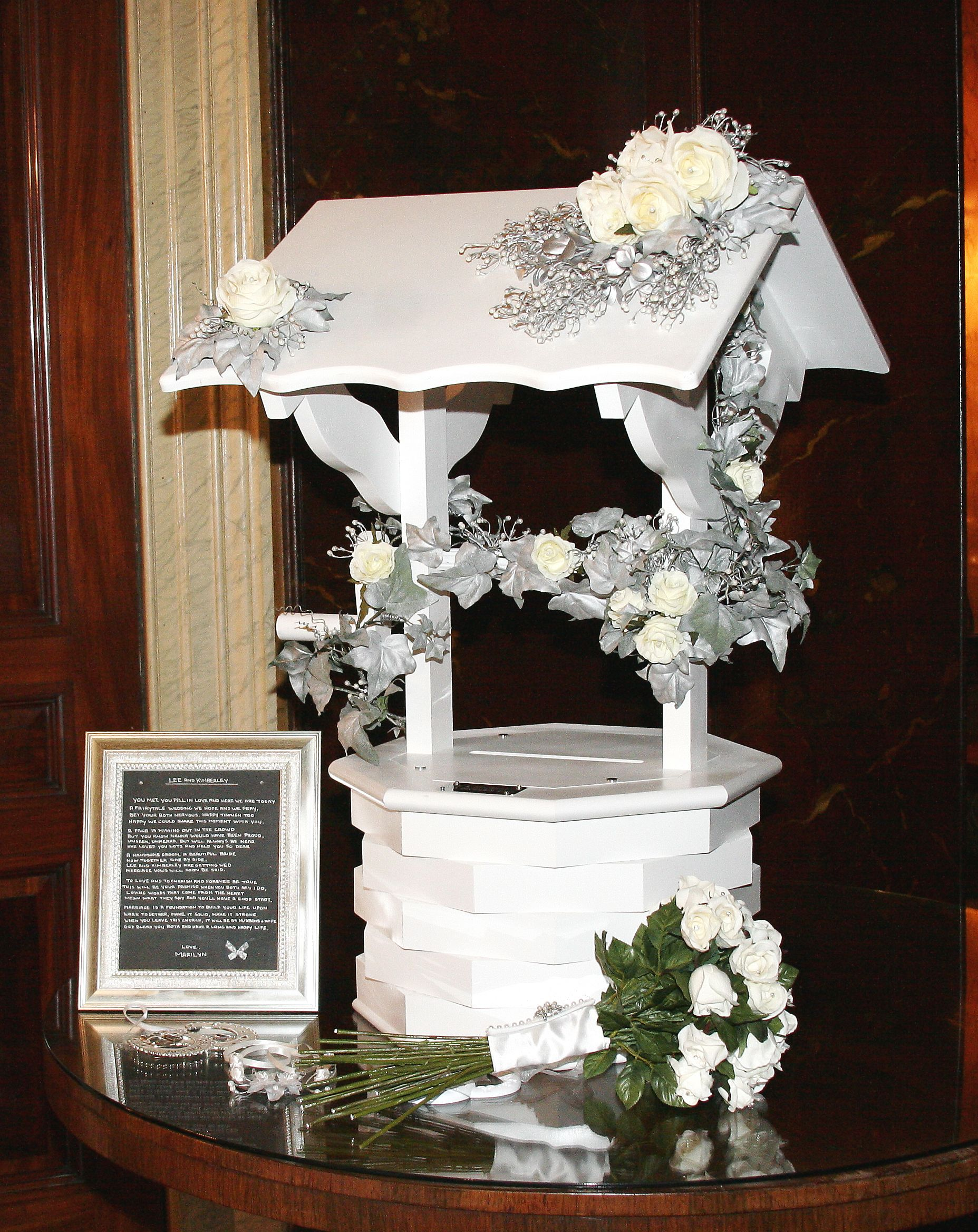 This is good wishing well ideas for our wedding for Wish decoration