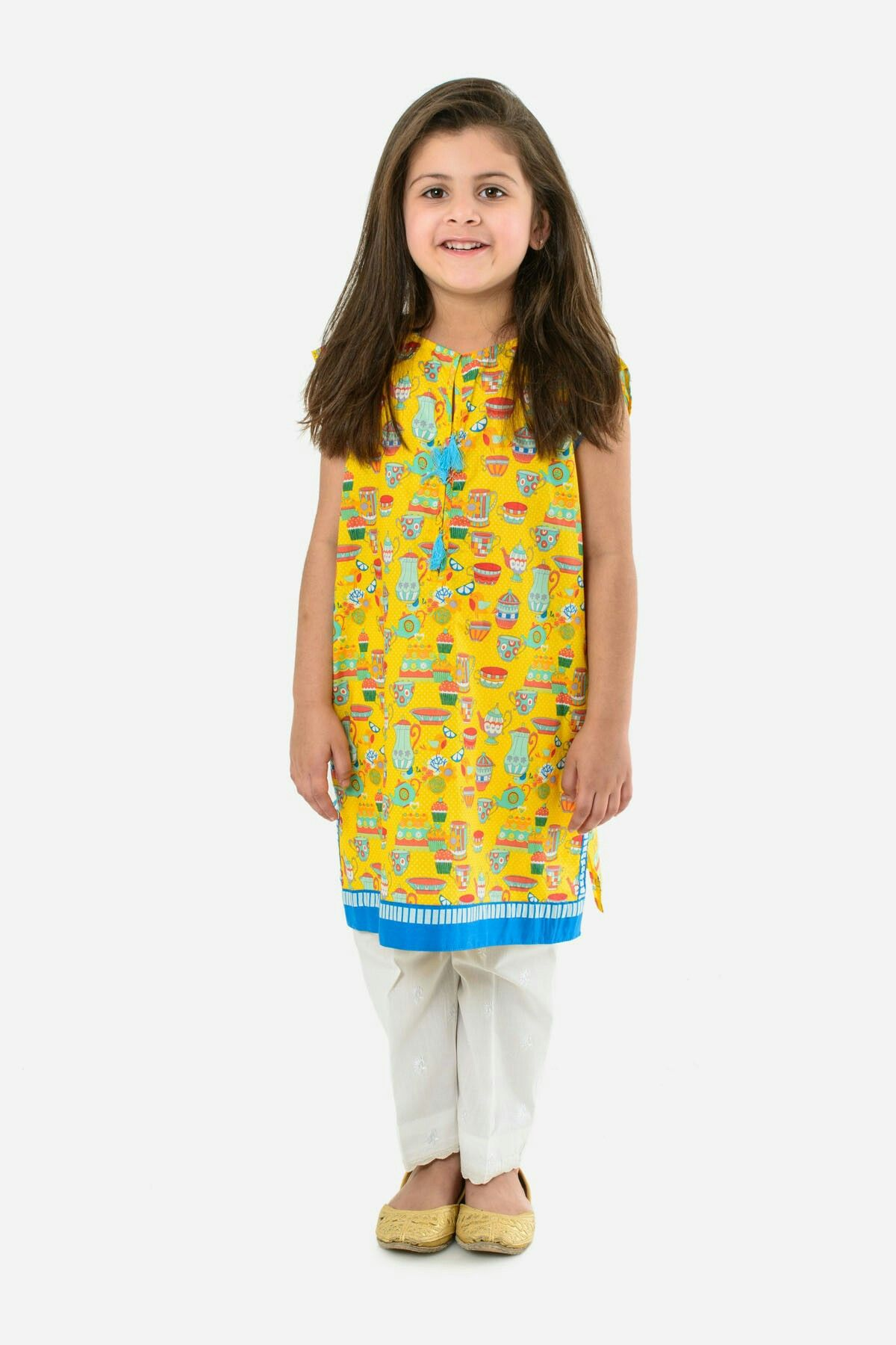 02e04a97c4ea8 Khaadi kids pakistan | girl dress | Dresses kids girl, Baby girl ...