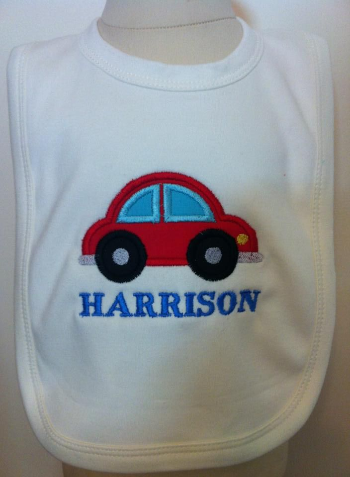 Personalised Baby Bib - Design of Your Choice - The Supermums Craft Fair
