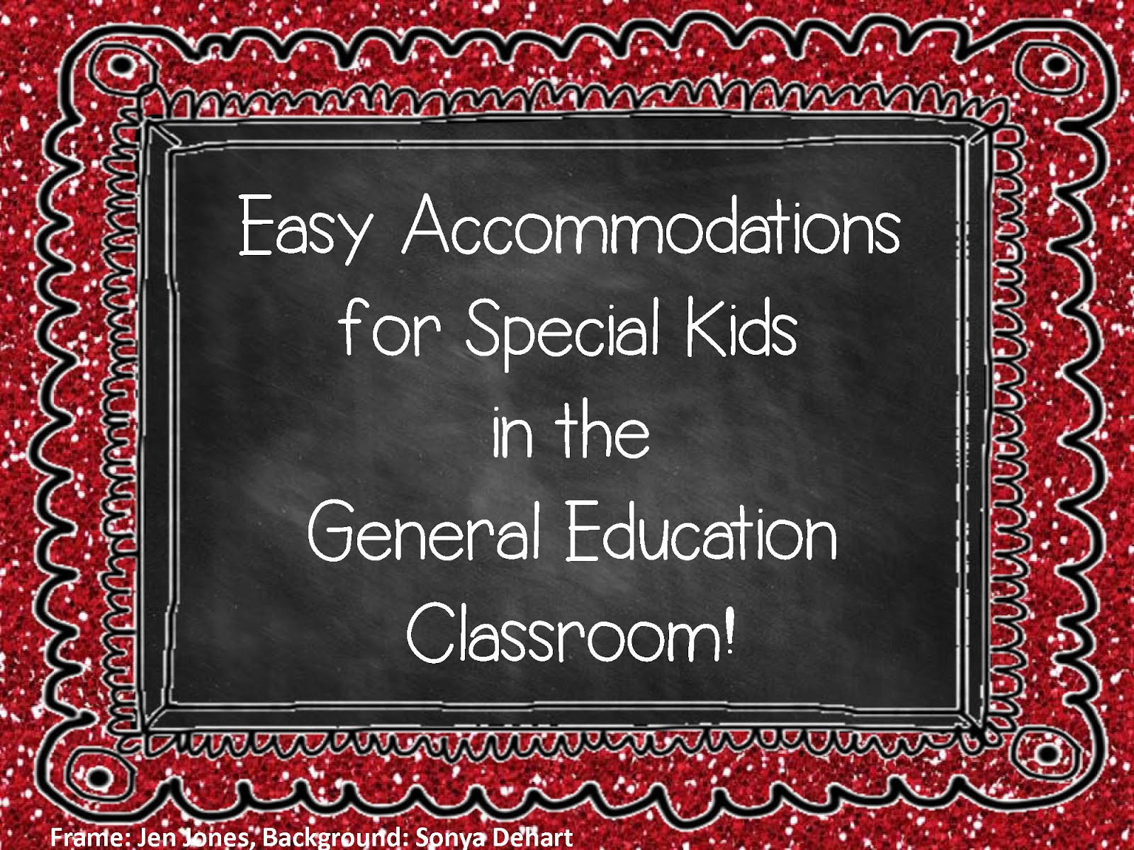 A Special Sparkle Easy Accommodations In The General